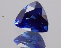 2.130ct Trillion cut Blue Sapphire