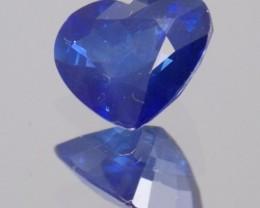 2.200ct heart shaped sapphire.