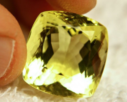 27.66 Carat African VVS1 Lemon Quartz - Beautiful