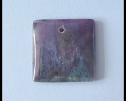 26.5Ct Natural Sugilite Gemstone Pendant Bead