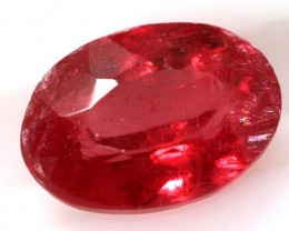 1.50 CTS RHODHONITE CRIMSION CHERRY RED FACETED CG-2089