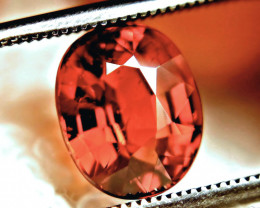 3.70 Carat Orange VS Spessartite Garnet - Rare