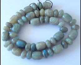 40CM Natural Labradorite Gemstone Beads,340 CT