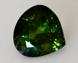 2.97CT TOURMALINE FOREST GREEN - AMAZING NO RESERVE AUCTION!