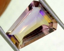 4.50CTS BI-COLOR AMETRINE FACETED GEMSTONE  CG-2098