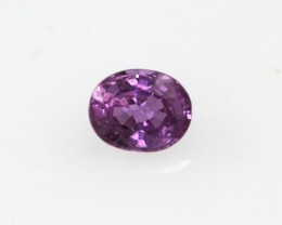 0.34cts Natural Pink Saphhire Oval Cut