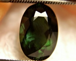 4.53 Ct. Elegant Green Nigerian VVS/VS Tourmaline - Gorgeous