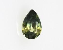 0.49cts Natural Australian Parti Sapphire Pear Cut