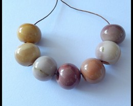 112Ct Natural Mookaite Jasper Beads,Beads For Necklace