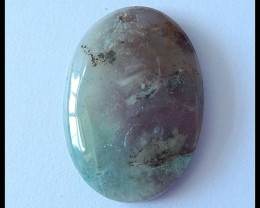 38Ct Natural Ocean Jasper Cabochon