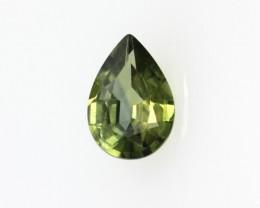 0.55cts Natural Australian Parti Sapphire Pear Cut