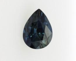0.96cts Natural Australian Blue Sapphire Pear Cut