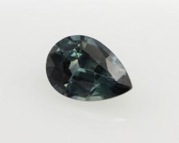 0.73cts Natural Australian Blue Sapphire Pear Cut