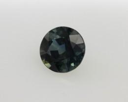 0.73cts Natural Australian Blue Sapphire Round Cut