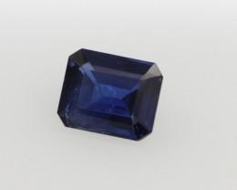 0.53cts Natural Australian Blue Sapphire Emerald Cut