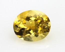 4.20cts Golden Yellow Citrine Oval Shape