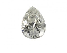 0.32cts Natural G/VVS Pear Shape Diamond