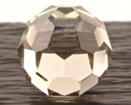 10.1cts Smokey Quartz Ball Cut From Madagascar — NR Auctions