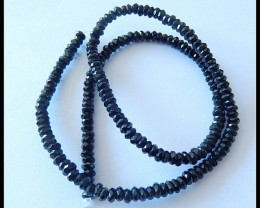 4MM Facted Obsidian Beads Strand,39cm