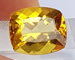 5.15cts,  Yellow Beryl / Helidore,  Untreated