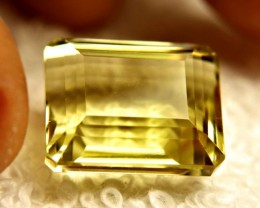 20.28 Carat VVS1 Lemon Quartz - Beautiful