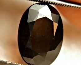 6.34 Carat Natural Charcoal Sapphire - Impressive
