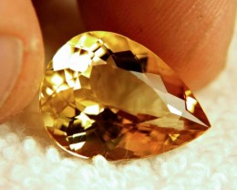 10.09 Carat Vibrant Yellow Gold IF/VVS1 Beryl - Superb