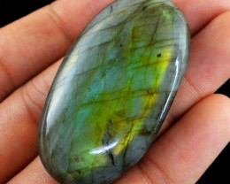 Genuine 116.90 Cts Labradorite Oval Shaped Cab