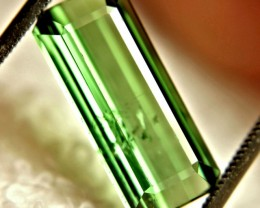6.62 Carat Green Nigerian Tourmaline - Gorgeous
