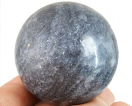 Genuine 455.75 Cts Black Galaxy Jasper Healing Ball