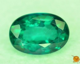 1.110 ct Natural Green Topaz
