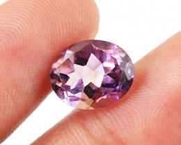 Genuine 3.50 Cts Oval Faceted Ametrine Gem