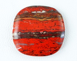 Genuine 28.70 Cts Untreated Red Jasper Cab