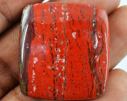 Genuine 41.90 Cts Untreated Red Jasper Cab