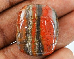 Genuine 32.15 Cts Red Jasper Untreated Cab