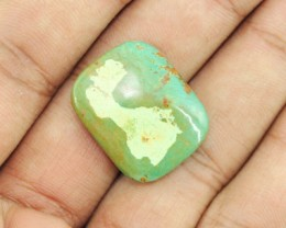 Genuine 25.00 Cts Untreated Turquoise Cab