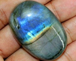 Genuine 168.50 Cts Oval Shaped Blue Color Change Labraorite Cab