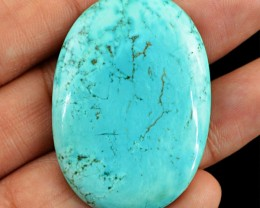 Genuine 85.75 Cts Oval Shaped Turquoise Oval Shaped Cab