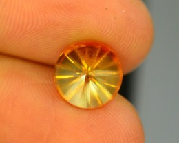 2.05 CT NATURAL LASER CUT CITRINE GEMSTONE
