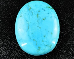 Genuine 55.40 Cts Turquoise Untreated Cab