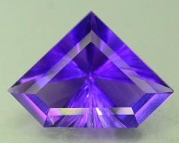 3.55 Natural Laser Cut Amethyst~Afghanistan