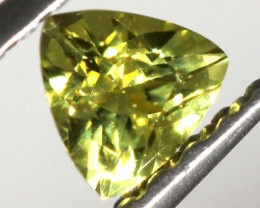 0.23 CTS  CERTIFIED YELLOW SAPPHIRE UNTREATED TBM-867