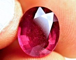 6.69 Ct. Fiery Ruby - Superb
