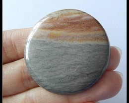 67Ct Natural Ocean Jasper Gemstone Cabochon