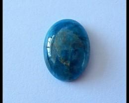 11Ct Natural Blue Apatite Gemstone Cabochon