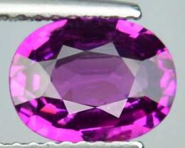 1.72 Cts Natural Rasberry Pink Rhodolite Garent Oval CUt African Gem NR
