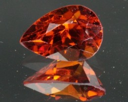 2.27 ct HESSONITE GARNET - INCREDIBLE COLOR!