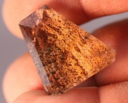 38cts Beautiful LODOLITE QUARTZ  Faceted From Madagascar — NR Auctions