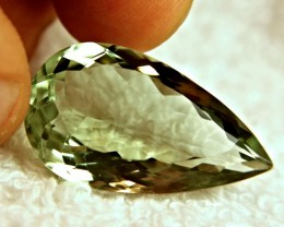 26.41 Carat VVS1 Brazil Prasiolite - Beautiful
