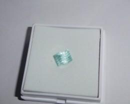 Master Cut: 2.14ct Fantasy Cut Ice Blue Tourmaline, VVS, Afghanistan